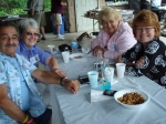 Some of the Singac crew--George Caban, B J Verbeck Mure, Ethel Douma VanDerHorn And Kathy MacLean-Caban.