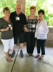 Pam and Bill Tawpash, Barbara Padula, Sandy LaBruto