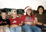 Lina Dutches Colangelo-my grandchildren  Daniel Mack(11), Leanne Grahn(11), Megan Grahn(17), Sara Mack(13)--Dec 2007