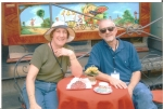 Harry Banks and his wife Maud on the Amalfi Coast of Italy--Fall 2005