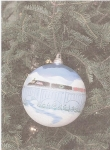 Carol Winschuh Brown was chosen to design the Christmas ornament to represent the 10th Congressional district of Pennsyl