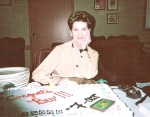 Bev Fazio Weite at her retirement on 2/9/2009 after 29 years at the Monte Carlo Hotel and Casino as a crap dealer