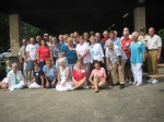 Class of '57 at the picnic:  (using maiden names to save space)  Front row:Marion Douma, Betty Jean Verbeck, Dolores Co