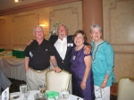 Don Kinkaid, Ken Huey, Dolores Coshignano, Betty Jean Verbeck