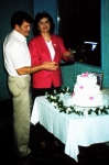 April 1999: Bob and Carol Winschuh Brown celebrate their 40th anniversary.